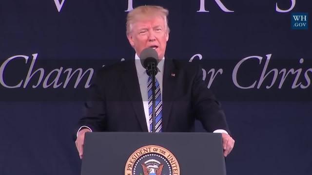 Bài Diễn Văn Tốt Nghiệp Của Ông Trump Ở Đại Học Liberty
