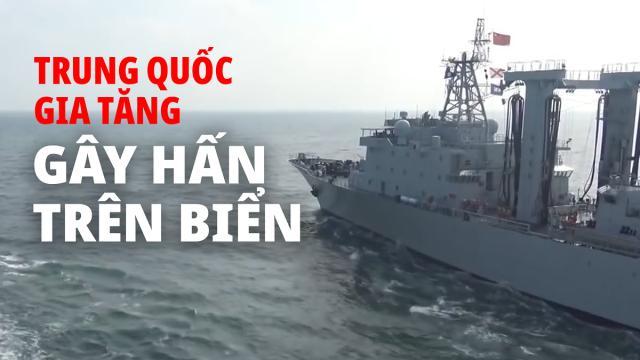 CCP tăng cường gây hấn ở biển trong lúc Mỹ bận chống dịch