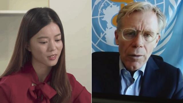Đại sứ WHO khó xử khi bị phóng viên hỏi về Đài Loan
